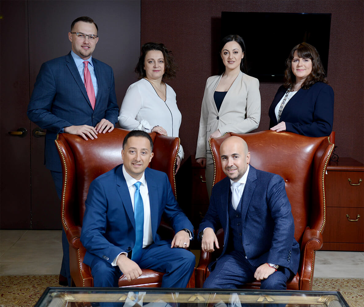 Shkolnikov Financial Team photo - indoors